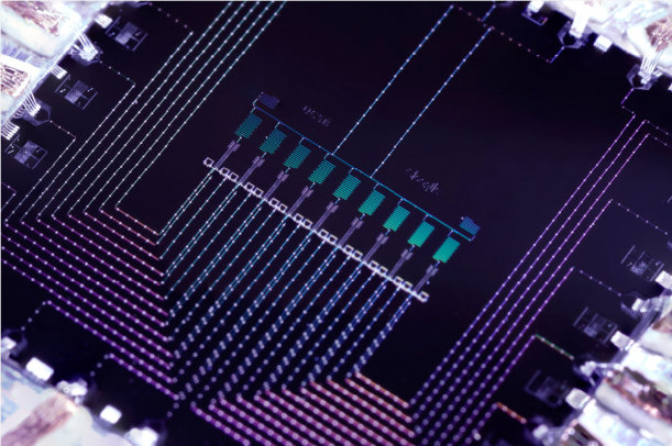 The 9 Qubit Quantum Chip Used For The Quantum Simulation Experiment In The Recent Collaboration With The Google Group